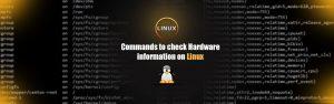 دستورات مشخصات سخت افزاری در لینوکس